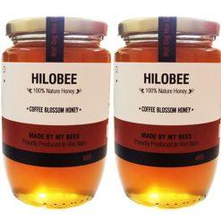 Combo mật ong hoa cà phê hilobee-min
