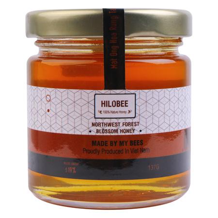 Mật ong hoa rừng tây bắc nguyên chất Hilobee (1)
