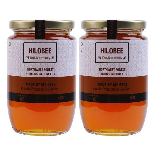 Mật ong hoa rừng tây bắc nguyên chất Hilobee (7)